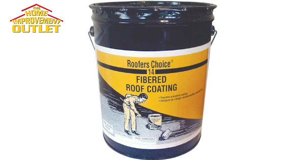 Roof Coating Henry Rc014070 Roofers Choice Fibered Black
